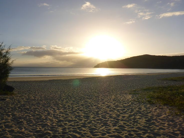 Noosa Australia - the sun rises