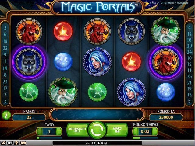 Magic Portals on uusin innovaatio kolikkopelimaailmassa. Se vie perinteisen pelaamisen uudelle tasolle maagisella vivahteella. Oletko tarpeeksi rohkea astuaksesi Magic Portalsin mystisiin haasteisiin? Magic Portals on fantastinen versiointi perinteisestä kolikkopeliformaatista.