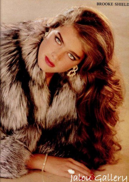 Brooke Shields   This should be the first pin on your 80's board