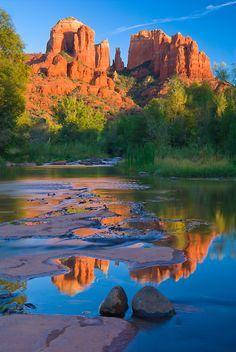 The lovely colors of Sedona in Arizona.