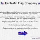 The Fantastic Flag Company is now hiring research specialists and writers to develop an informational booklet about the flag of the U.S.A. In this ...