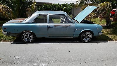 Beautiful 1968 Amc Rambler coupe runs nice with oem inline 63 speed manual tranny column shifter. floor panels rusted ou... 1968 Amc Other Hollywood.