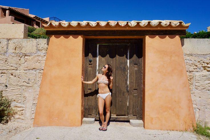 Beach day in Spain! H&M Bikini Bottoms!