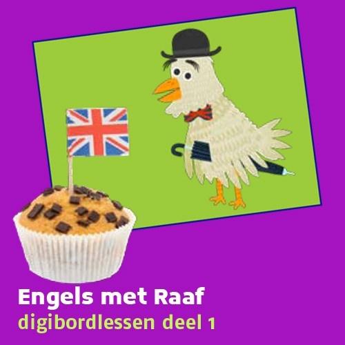 NTR - Huisje Boompje Beestje - Engels met Raaf - digibordlessen  - Lespakket