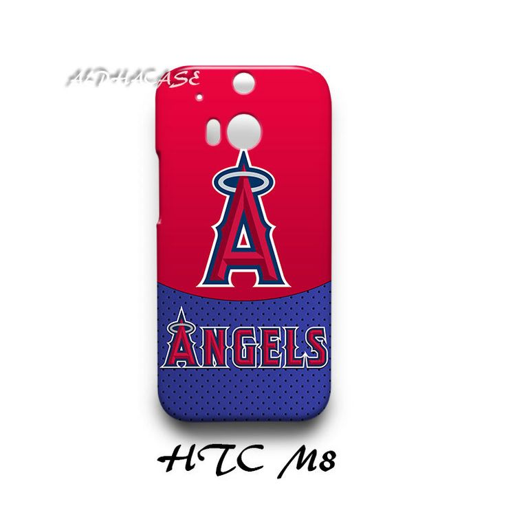 Los Angeles Angels HTC M8 Hardshell Case Cover