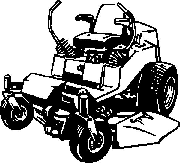 Lawn Mower Coloring Page Lovely Lawn Mower Mercial Lawn Mowing Clipart Clipartix Farm Animal Coloring Pages Lawn Mower Clip Art