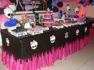 Doce Fornada: ANIVERSARIO MONSTER HIGH