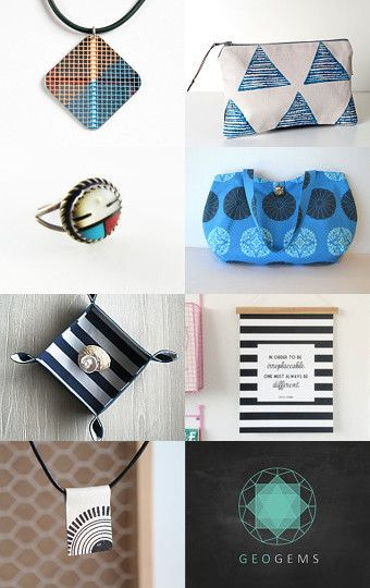 Bold geometrics by Stuart McWilliam on Etsy--Pinned with TreasuryPin.com