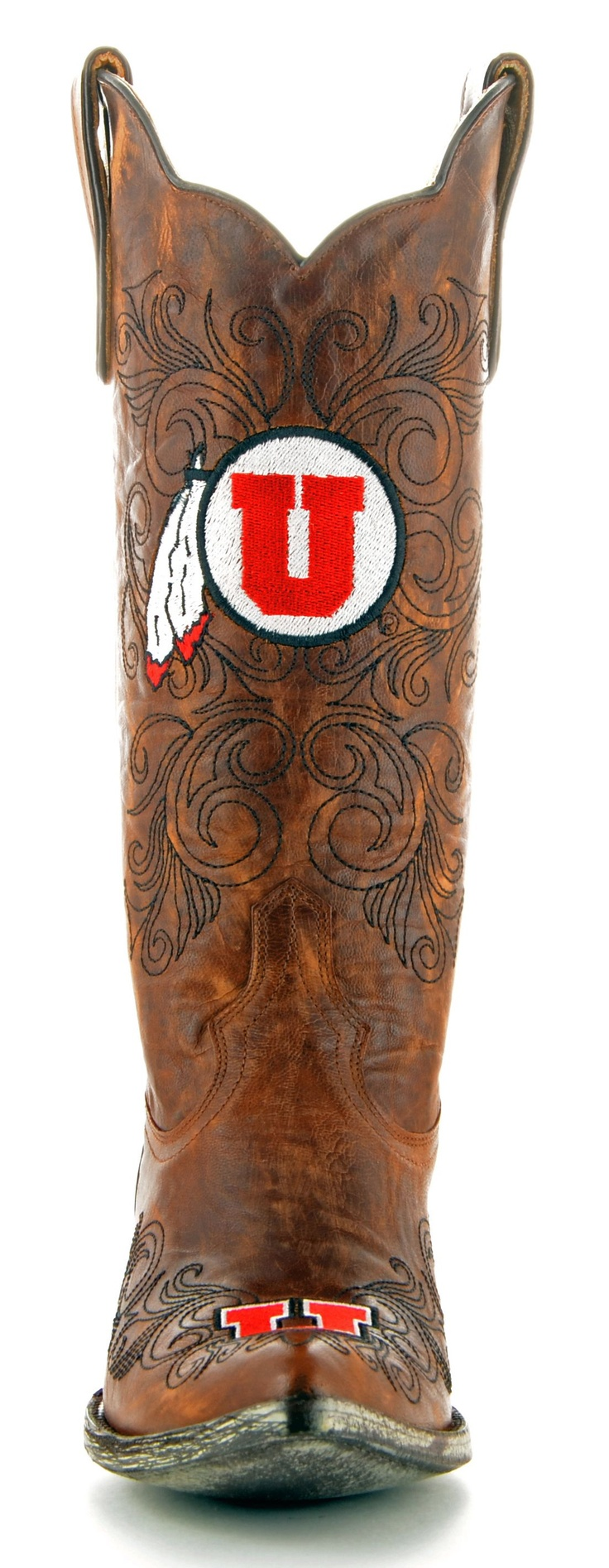 Juls!! Sport crimson and white in Women's University of Utah Gameday boots! This is my husband's College.