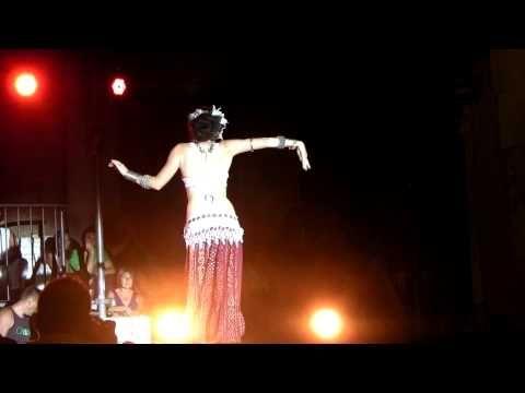 April Rose at Split Tribal Fest 2011