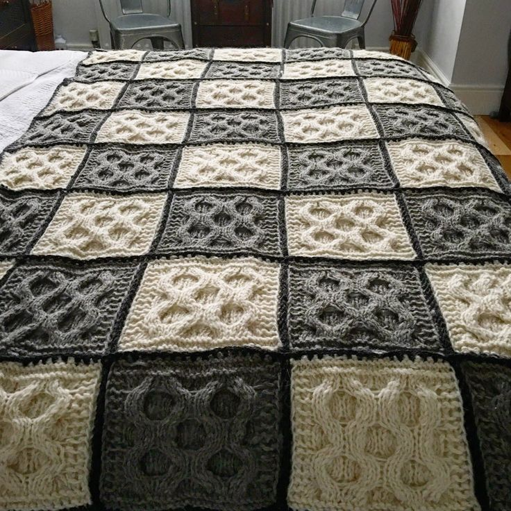 A personal favourite from my Etsy shop https://www.etsy.com/uk/listing/464996194/100-sheep-wool-hand-knitted-blanket