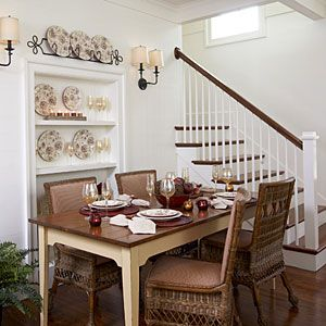 101 best images about cute cottage style on pinterest for Cute dining room decor