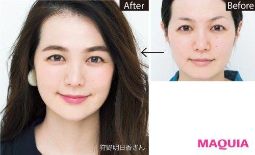 【ぱっちり目/小顔に見せたい】眉を変えるだけであなたの見た目は大きく変わる! | MAQUIA ONLINE(マキアオンライン)