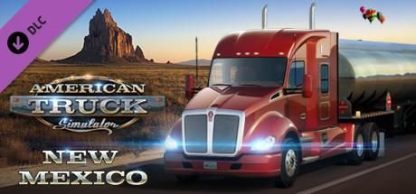 #Download #Game #Online -  American Truck Simulator New Mexico - PLAZA