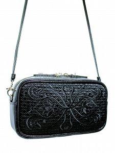Skórzana torebka GOSHICO z haftowanym frontem do ręki i na ramię http://torebki.pl/skorzana-torebka-goshico-z-haftowanym-frontem-do-reki-i-na-ramie-571.html