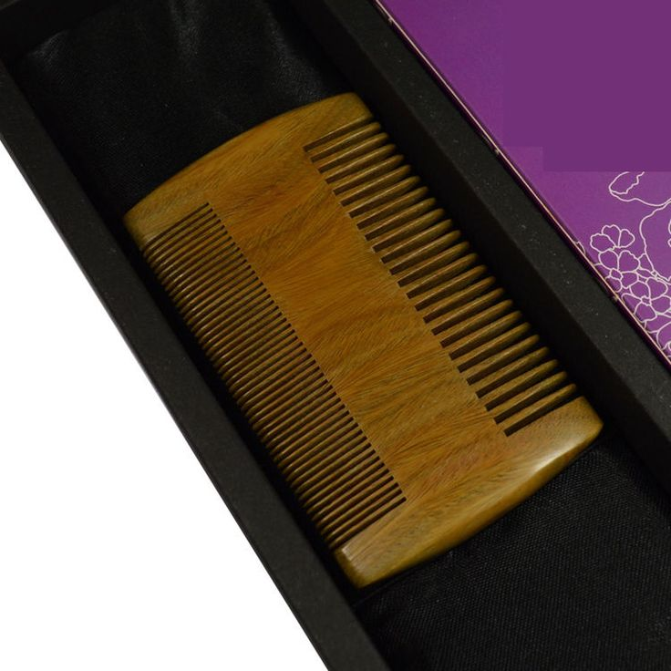 Empty Person Head lice comb pocket comb mens beard comb travel wooden combEMLB02 #EMPTYPERSON