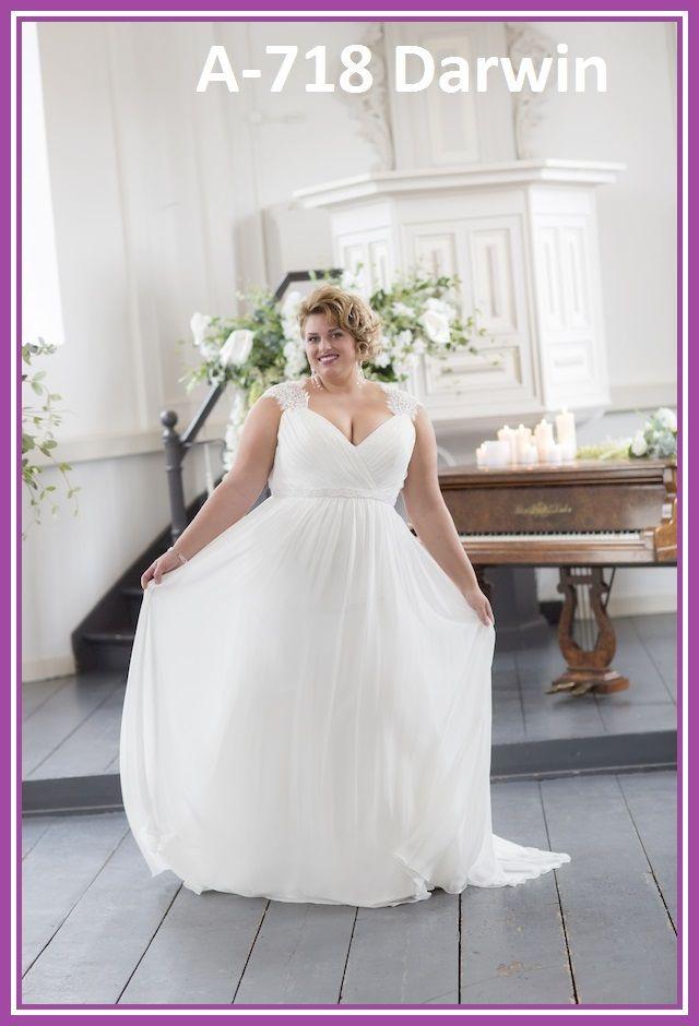 Exclusivo, original y hermoso Vestido de Novia para Mujeres de tallas grandes que quieren lucir su cuerpo (Nuestro estándar es hasta la talla 60).