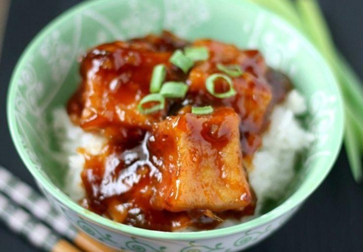 J'ai vraiment été surpris à quel point ça goutte semblable à un poulet Général Tao... C'est super facile et un vrai délice végétarien!