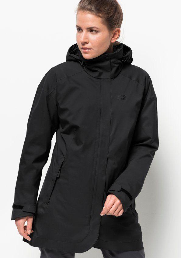 Otto Jackwolfskin Bekleidung Funktionsbekleidung Funktionsjacken Jacken Damen Jack Wolfskin 3in1funktionsjacke Ruunaa Street Style Fashion Jackets