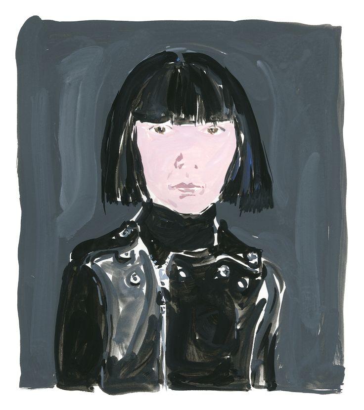 Rei Kawakubo - Portrait|© Jean-Philippe Delhomme #fashion