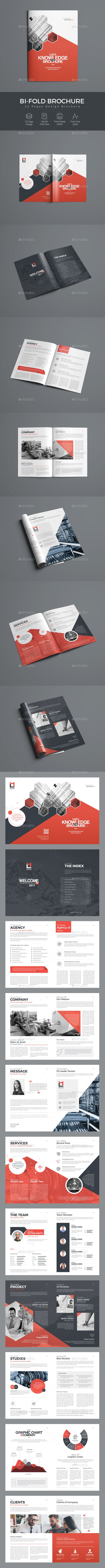 BiFold Brochure — Photoshop PSD #brochure #logo • Download ➝ https://graphicriver.net/item/bifold-brochure/19679864?ref=pxcr