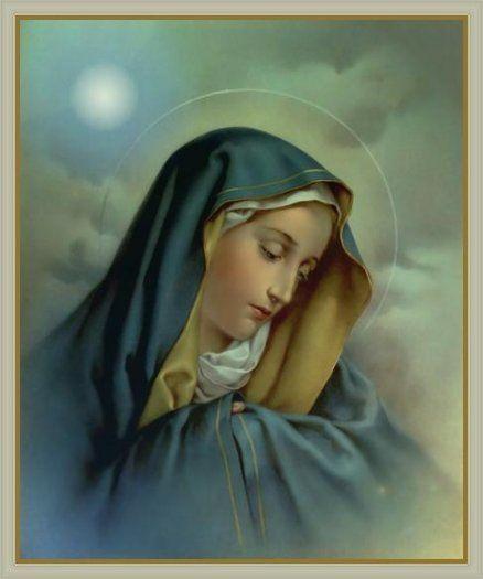 sightings of virgin mary