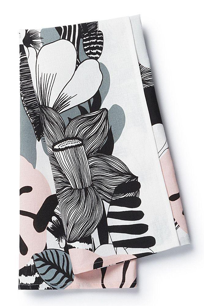 marimekko Kasvu Tea Towel