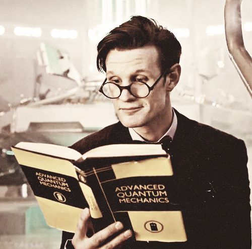 If you think about it, it has to have been centuries since he lost the Ponds to that Weeping Angel in Manhattan. Yet here he is, so many years later, and he still has Amy's reading glasses.