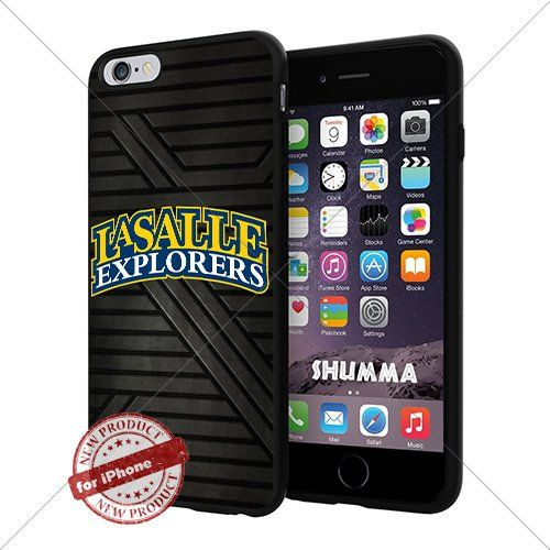 """NCAA-La Salle Explorers,Cool iPhone 6 Plus (6+ , 5.5"""") Smartphone Case Cover Collector iphone TPU Rubber Case Black SHUMMA http://www.amazon.com/dp/B0130FCACM/ref=cm_sw_r_pi_dp_2nNhwb1R8BVYT"""