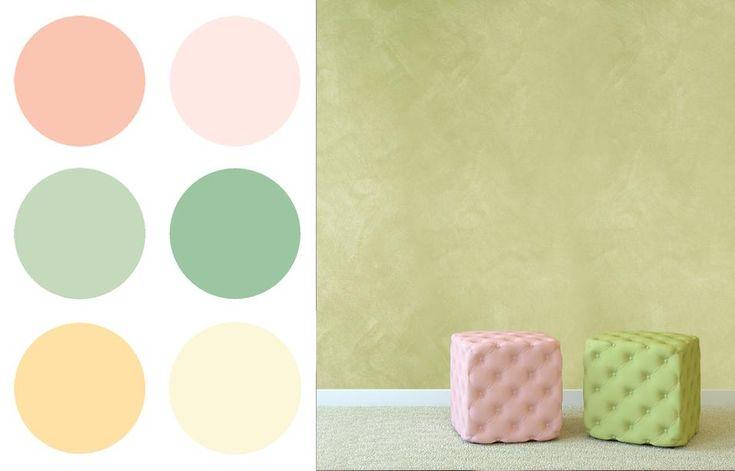 colori vivaci, ma al tempo stesso delicati, ispirati all'art deco degli anni '20.