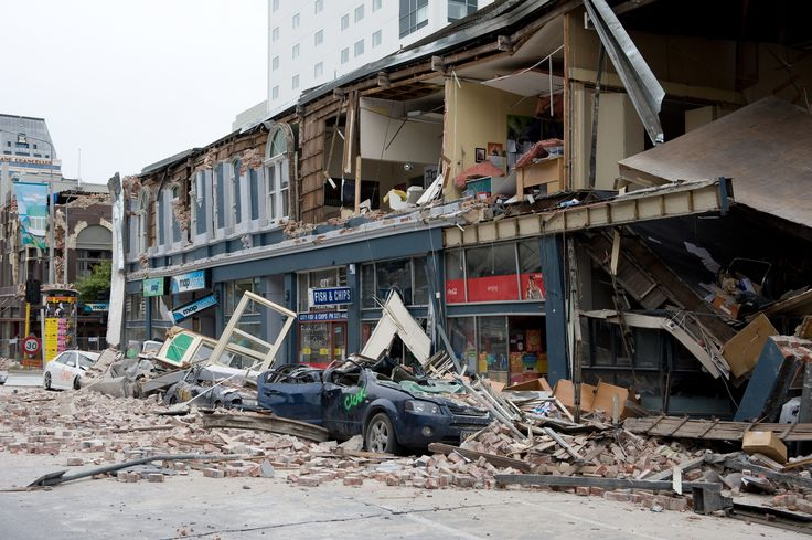 Christchurch endured devastating earthquakes in 2010 - 2011. Sonny was there at the time.