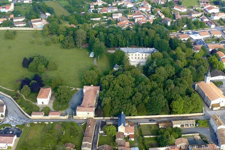 Photo aérienne de : Villiers-en-Plaine - Deux-Sèvres (79)