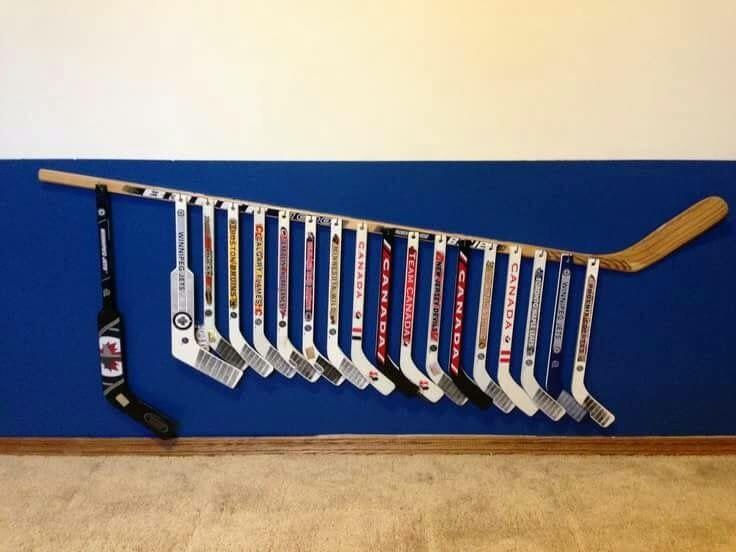 Les 25 meilleures id es de la cat gorie chambre hockey sur for Decoration murale 974