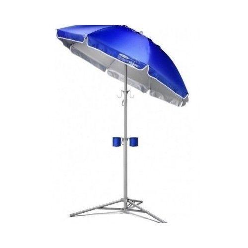 Portable Patio Umbrella Wondershade Outdoor Camping Furniture Garden Beach Shade #Wondershade