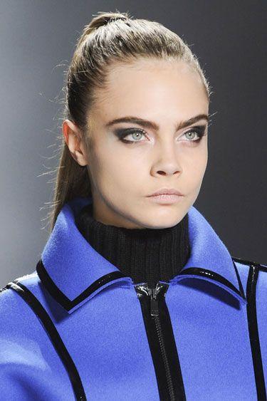 Fall 2013 Makeup Trends - The Best Makeup Looks From Fall 2013 Fashion Week - Harper's BAZAAR - Cat Eye