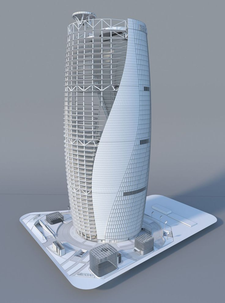 Making Of Zha S Leeza Soho 3d Architectural