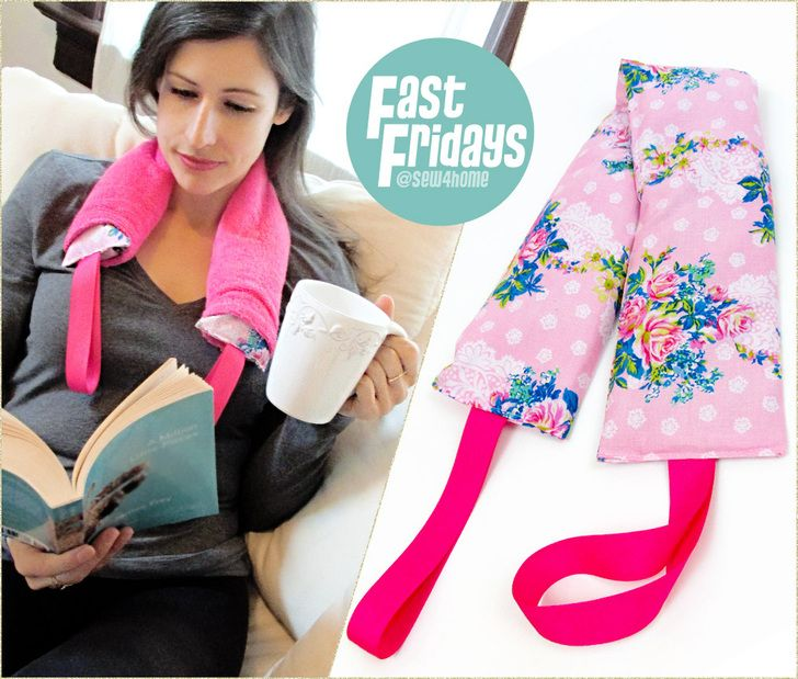 Fast Fridays: Therapy Neck Wrap with Scented Rice/Flax Filler | Sew4Home