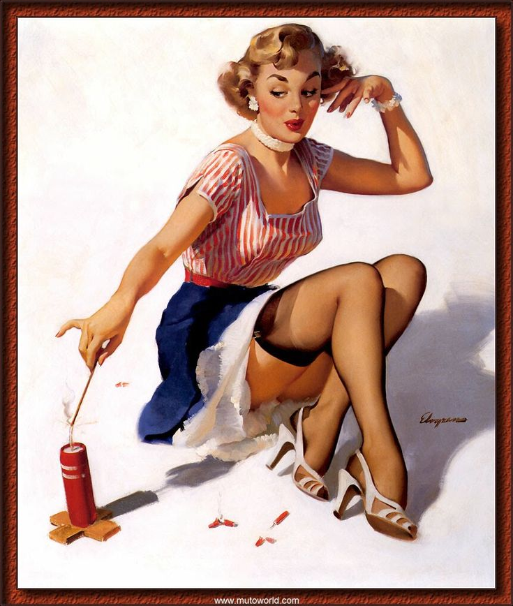 4th of july pin up images