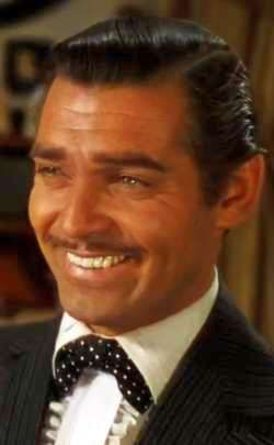 Clark Gable as Rhett Butler in Gone with the Wind