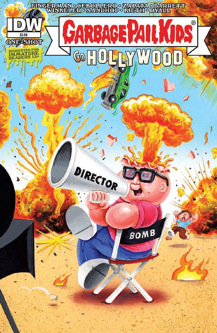 Garbage Pail Kids Go Hollywood