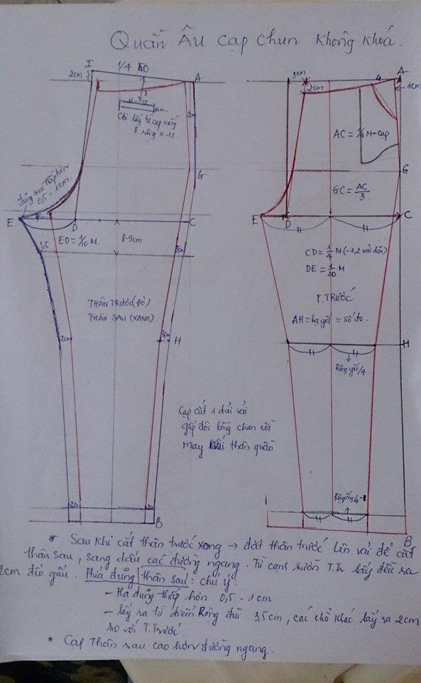 chart quần của chị Hoatiti Nguyễn1