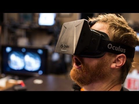 informative speech oculus rift The oculus rift is a prototype head mounted virtual reality display that can  feature 3d quality gameplay according to michael poh of.