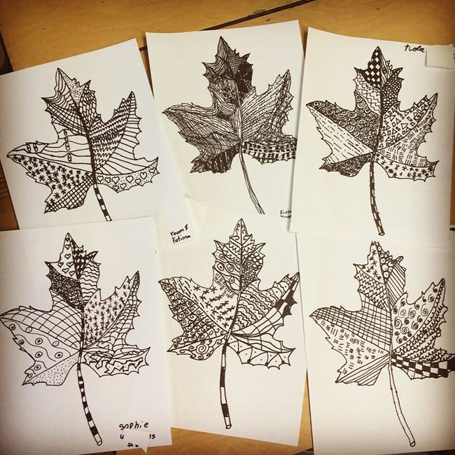 Art Ideas With Leaves: Best 25+ Leaf Drawing Ideas On Pinterest