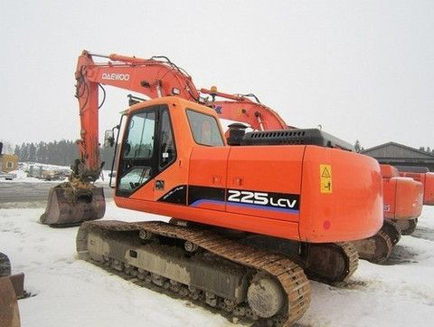 Click On The Above Picture To Download Doosan Daewoo S225lc-v Excavator Parts Manual