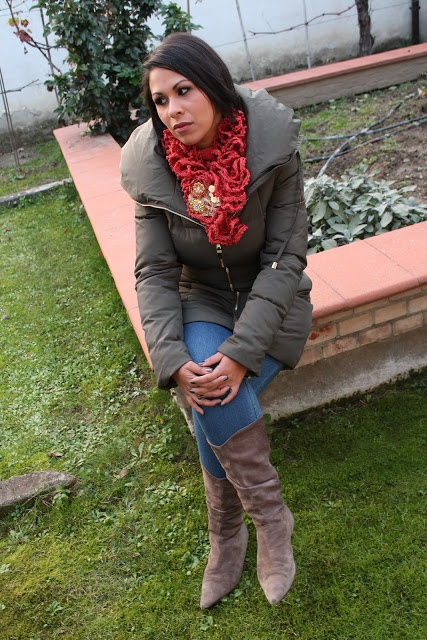 EIDesign Glamour: NEW IN ZARA down jacket