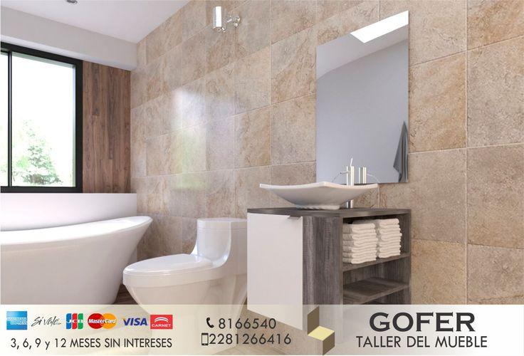 Un mobiliario que realce y optimice el espacio del lavabo.  Estante flotante, adquierelo a un precio accesible.  Consulta sobre una cotización GRATIS. 📞 8166540 📱 2281266416 #AmueblandoTuVida #Gofer #Muebles #Baño #Taller #Carpintería #Diseño #Arquitectura #Mobiliario #Hogar #Xalapa #Coatepec #Veracruz #Mexico