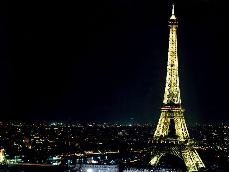 París de nit. #night #nuit. Paisajes de Ensueño: Paisajes de Noche, del blog mil-paisajes