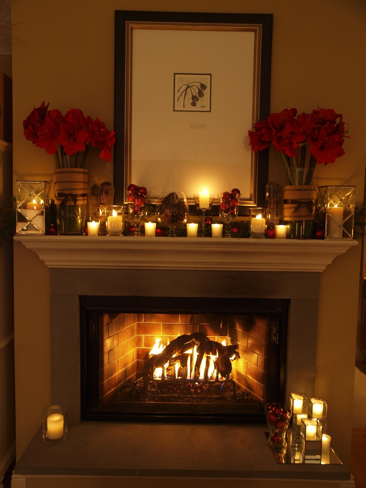 13 best christmas decor inspiration from our home to for Amaryllis deco
