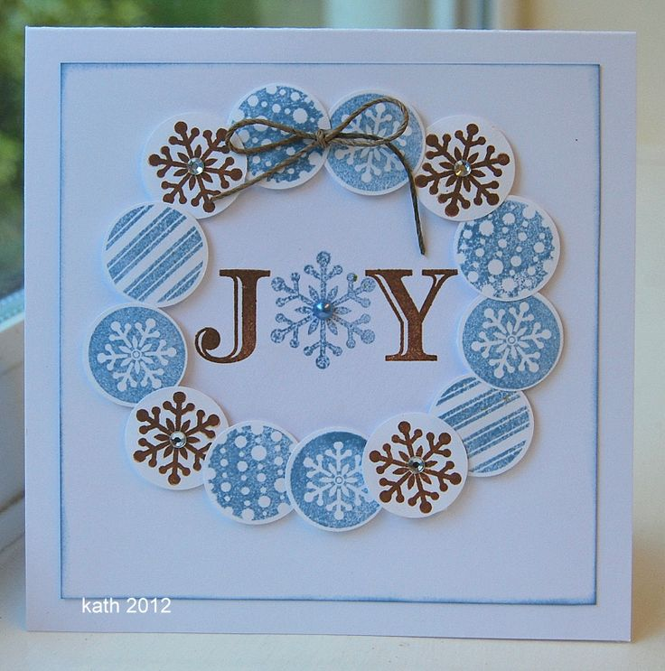 joyEveryday Life, Cards Ideas, Stamps Christmas Cards, Kath Blog Diaries, Cards Christmas, Diy Gift, Holiday Cards, Scrapbook Pages, Joy Cards