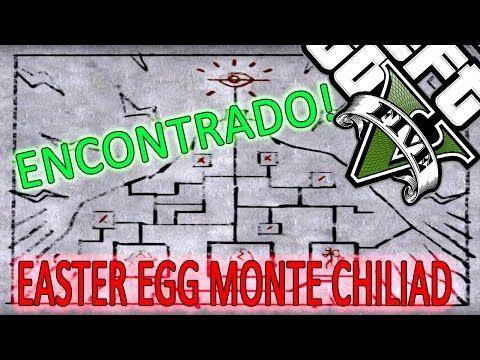 GTA V Easter Eggs: Segredo do MT Chiliad Mais uma Pista Encontrada - P...